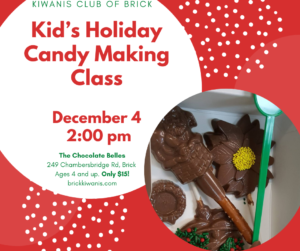 Kid's Holiday Candy Making Class